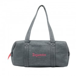 Sac grand Polochon Repetto Gris Orage chiné